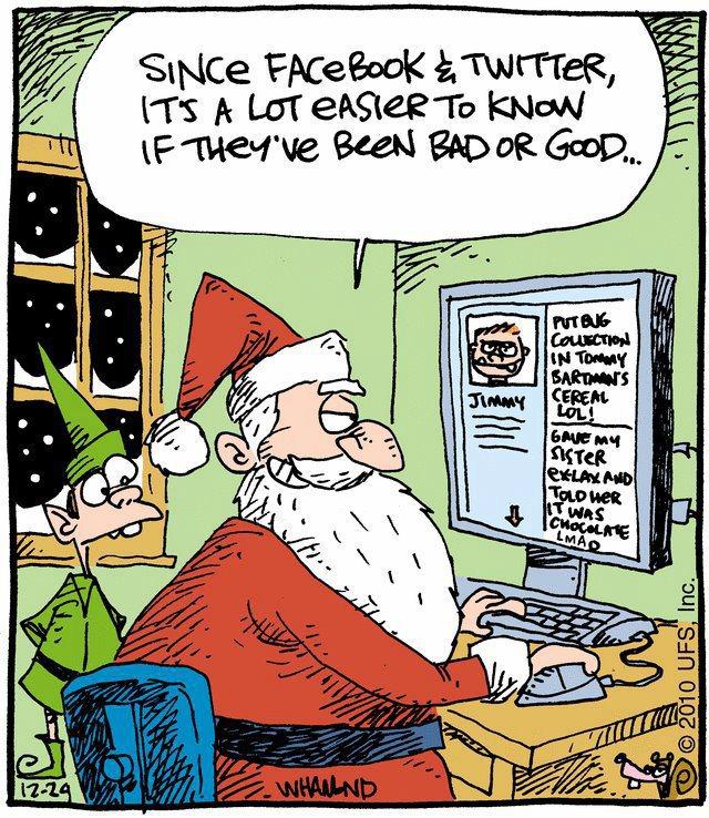12 Days of Social Media: Social Media Christmas Funnies RoundUp
