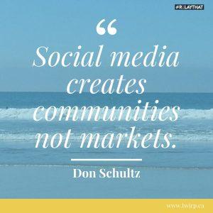 social media quote DIY graphic design