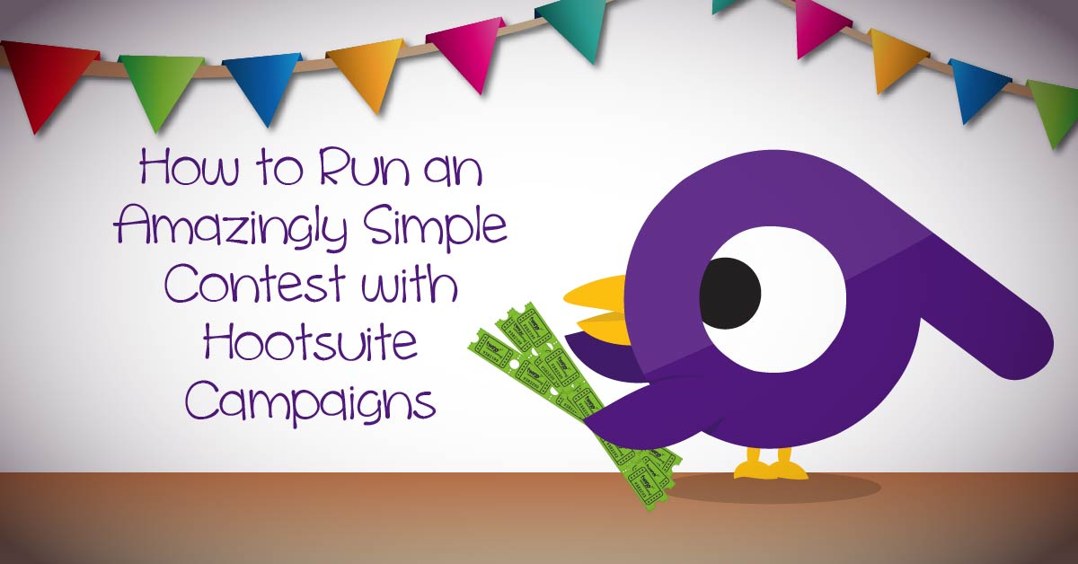 hootsuite social sweepstakes how to run an amazingly simple contest with hootsuite 6370