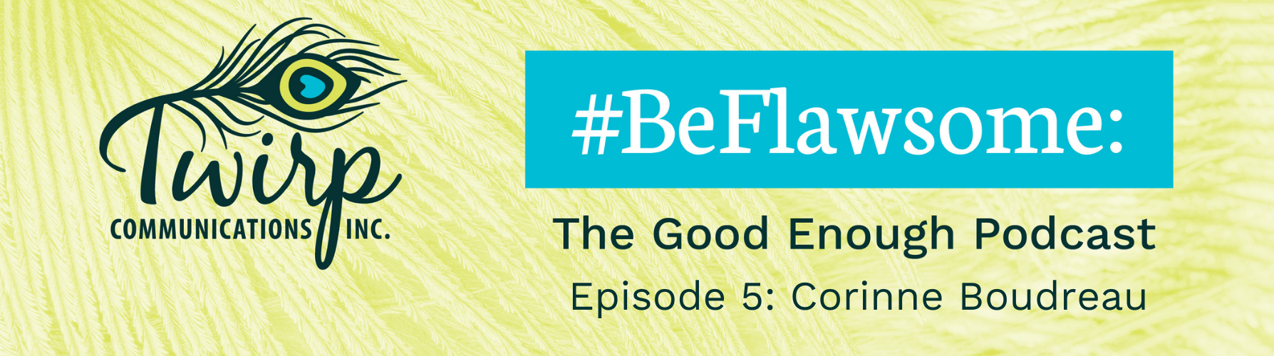 #BeFlawsome Podcast Episode 5 Banner